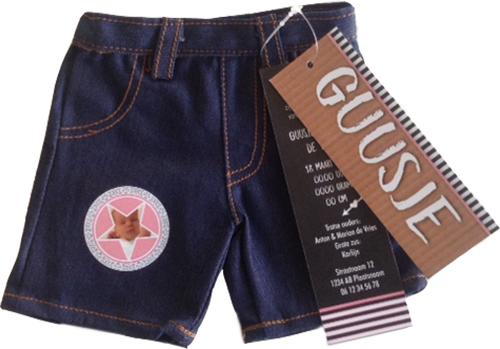 Spijkerbroekje, super tof geboortekaartje